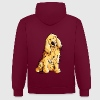 Happy Cocker Spaniel Hoodies & Sweatshirts - Contrast Colour Hoodie