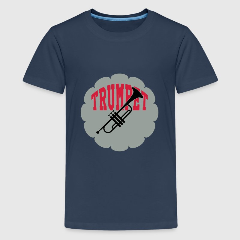 Trompet / Trompettist / Muziek / Jazz Shirts - Teenager Premium T-shirt