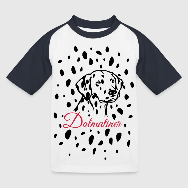 Dalmatiner T-Shirts - Kinder Baseball T-Shirt