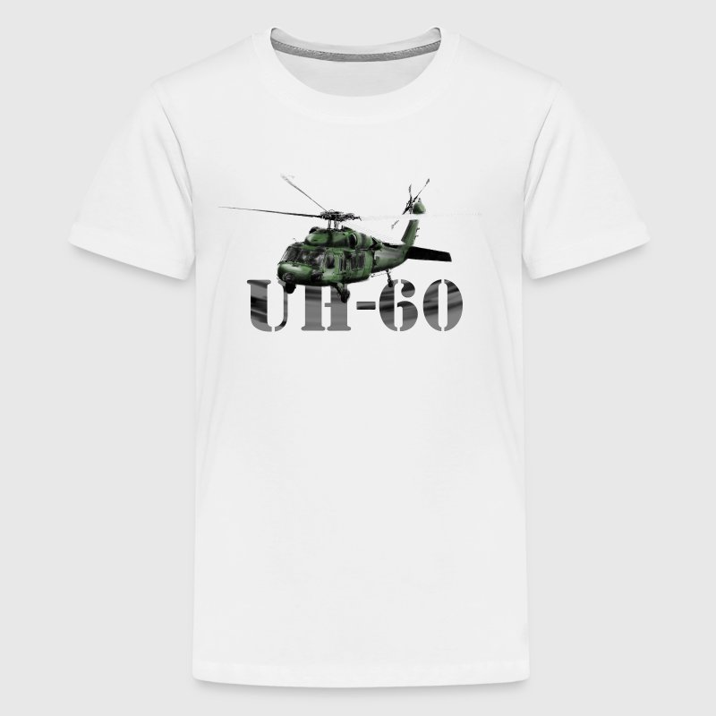 helicopter UH-60 Shirts - Teenage Premium T-Shirt