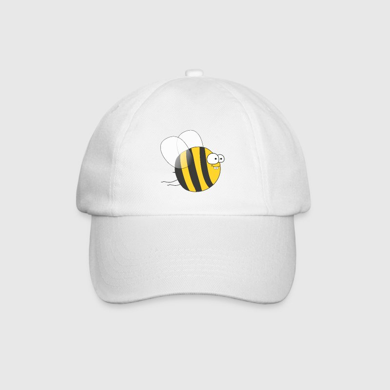 Cool & Crazy Funny Bee / Bumble Bee (Sweet & Cute) Caps & Hats - Baseball Cap