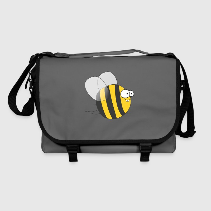 Cool & Crazy Funny Bee / Bumble Bee (Sweet & Cute) Bags & Backpacks - Shoulder Bag