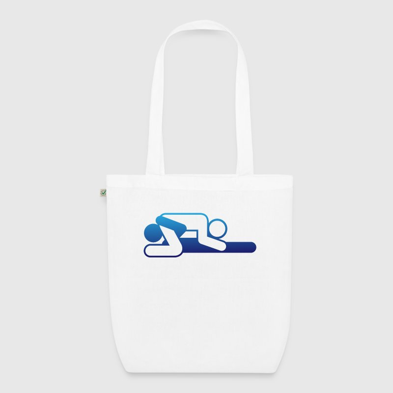A couple in 69 position Bags & Backpacks - EarthPositive Tote Bag