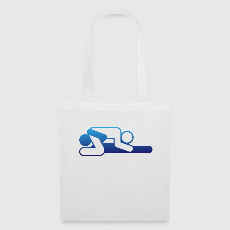 A couple in 69 position Bags & Backpacks - Tote Bag