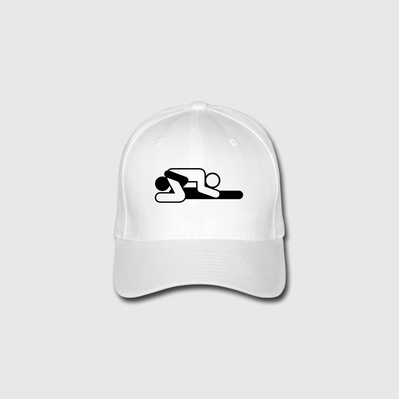 A couple in 69 position Caps & Hats - Flexfit Baseball Cap