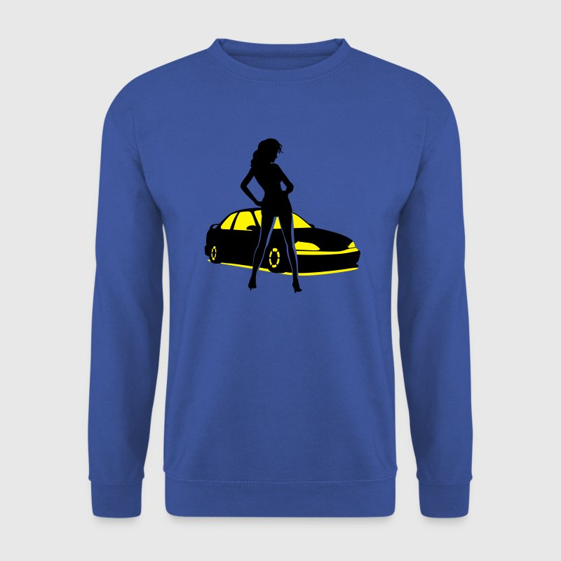 Car Tuning Girl (Coupe) Pullover & Hoodies - Männer Pullover