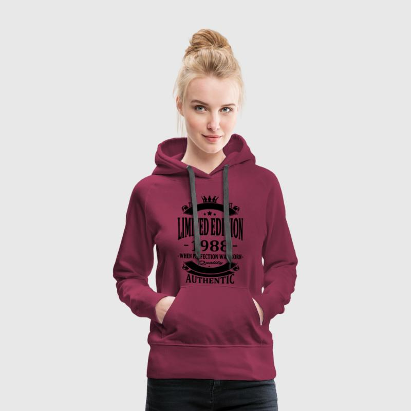 Limited Edition 1988 Hoodies & Sweatshirts - Women's Premium Hoodie
