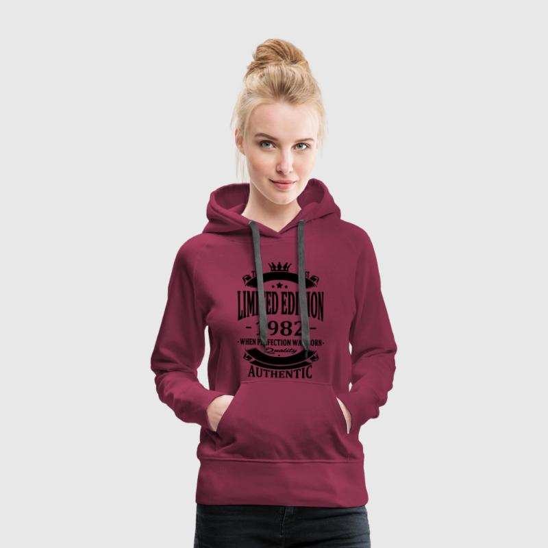 Limited Edition 1982 Hoodies & Sweatshirts - Women's Premium Hoodie