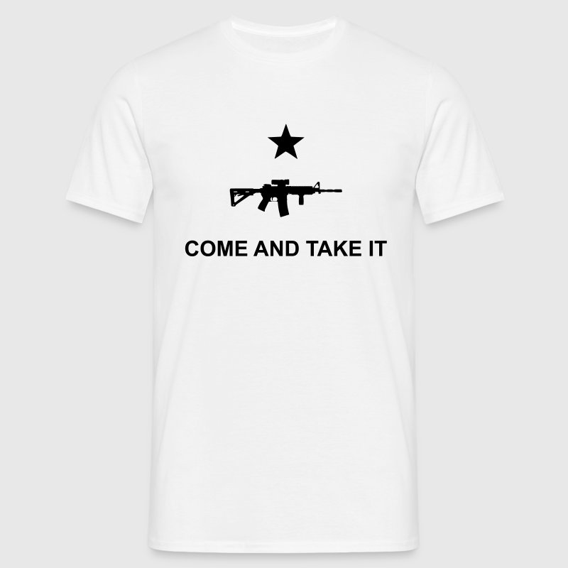 come and take it T-shirts - Herre-T-shirt