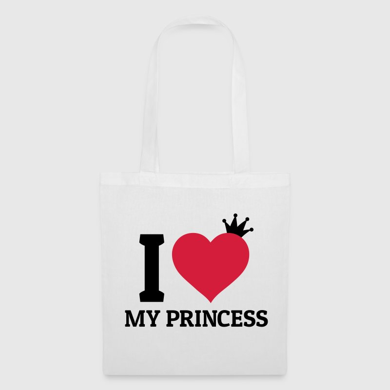 I love my Princess Bags & Backpacks - Tote Bag
