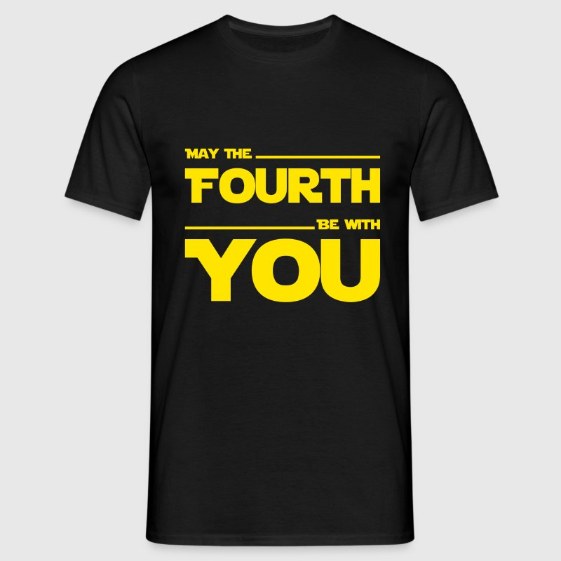 May The Fourth Be With You - Dark Geek Shirt - Männer T-Shirt