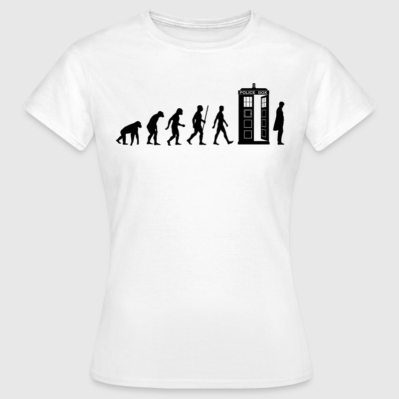 Evolution Tardis T-Shirts - Frauen T-Shirt