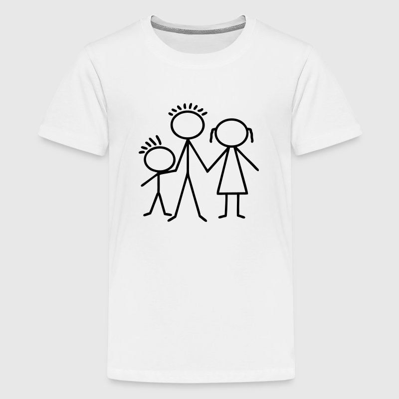 Mutter Vater Kind T-Shirts - Teenager Premium T-Shirt