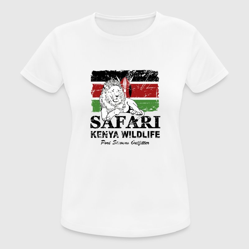 Lion - Safari Kenya Wildlife T-Shirts - Women's Breathable T-Shirt
