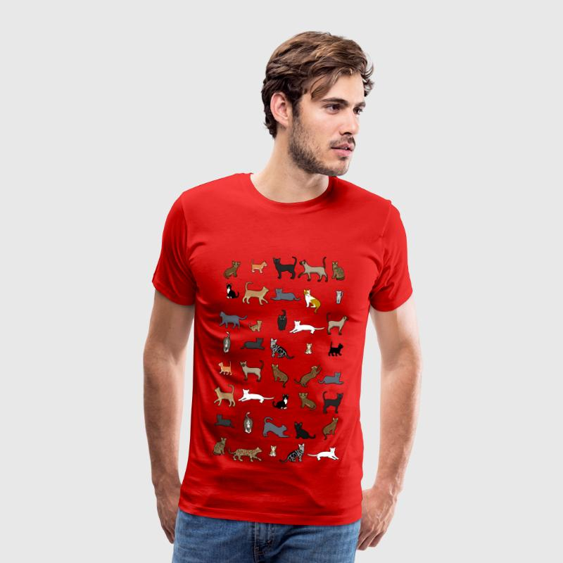 All cats T-shirts - Mannen Premium T-shirt
