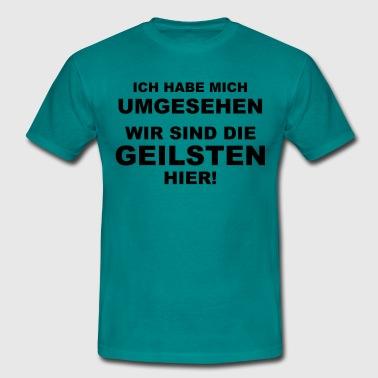 suchbegriff 39 ich habe mich umgesehen 39 t shirts online bestellen spreadshirt. Black Bedroom Furniture Sets. Home Design Ideas