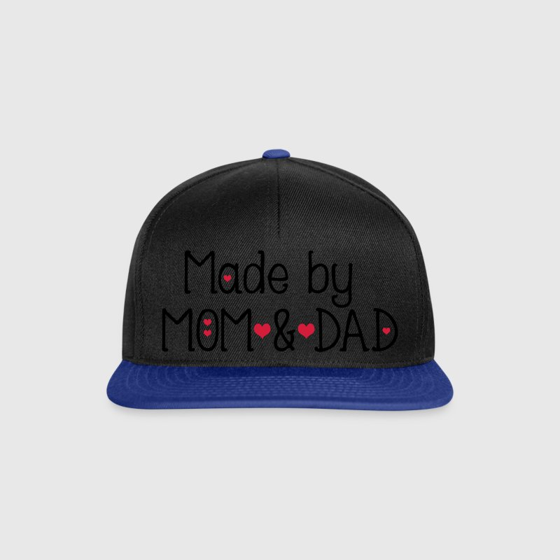Made by mom and dad Snapback Cap - Snapback Cap
