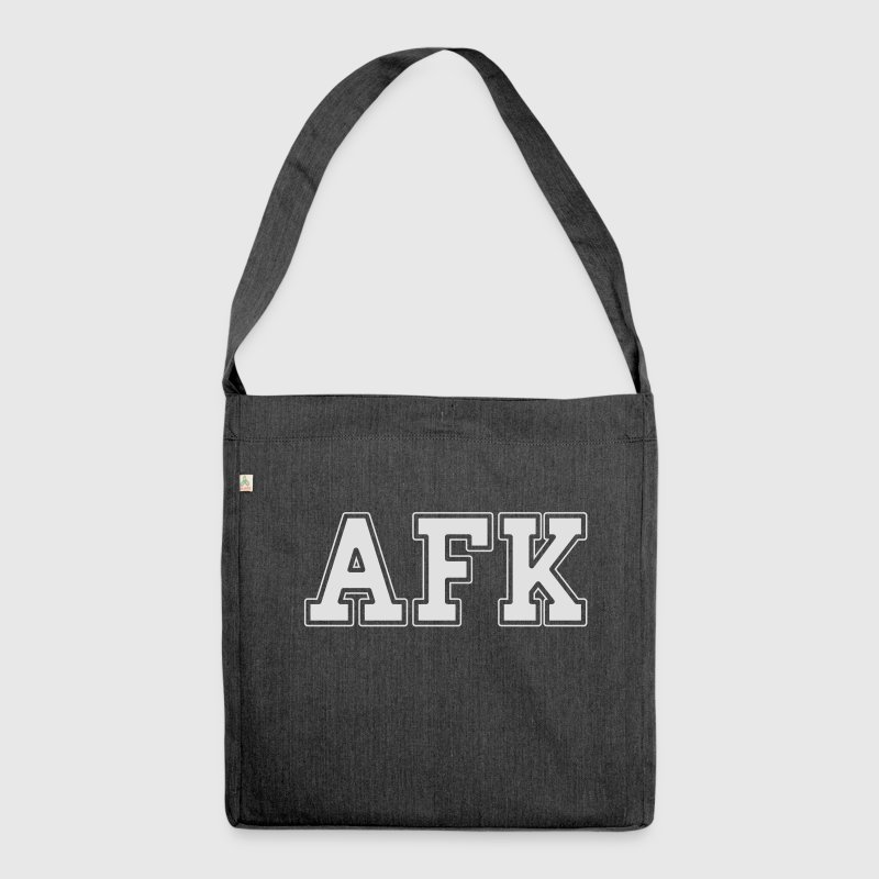 AFK Bags & Backpacks - Shoulder Bag made from recycled material