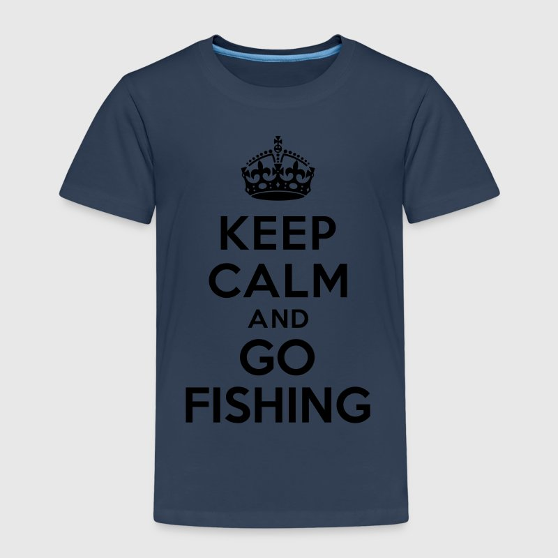 Keep calm and go fishing Tee shirts - T-shirt Premium Enfant