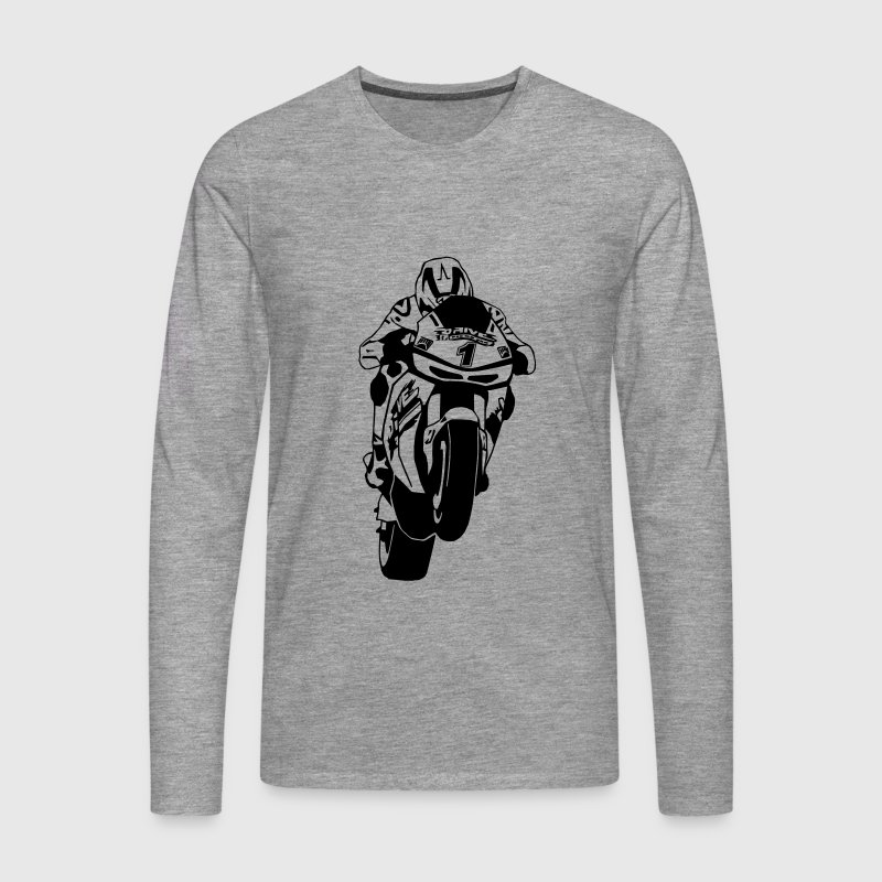 MotoGP Long sleeve shirts - Men's Premium Longsleeve Shirt