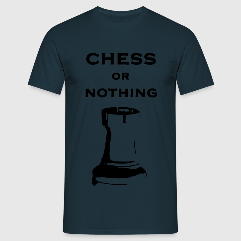 T-shirt classica Uomo Chess Or Nothing Rook Fluo - Maglietta da uomo