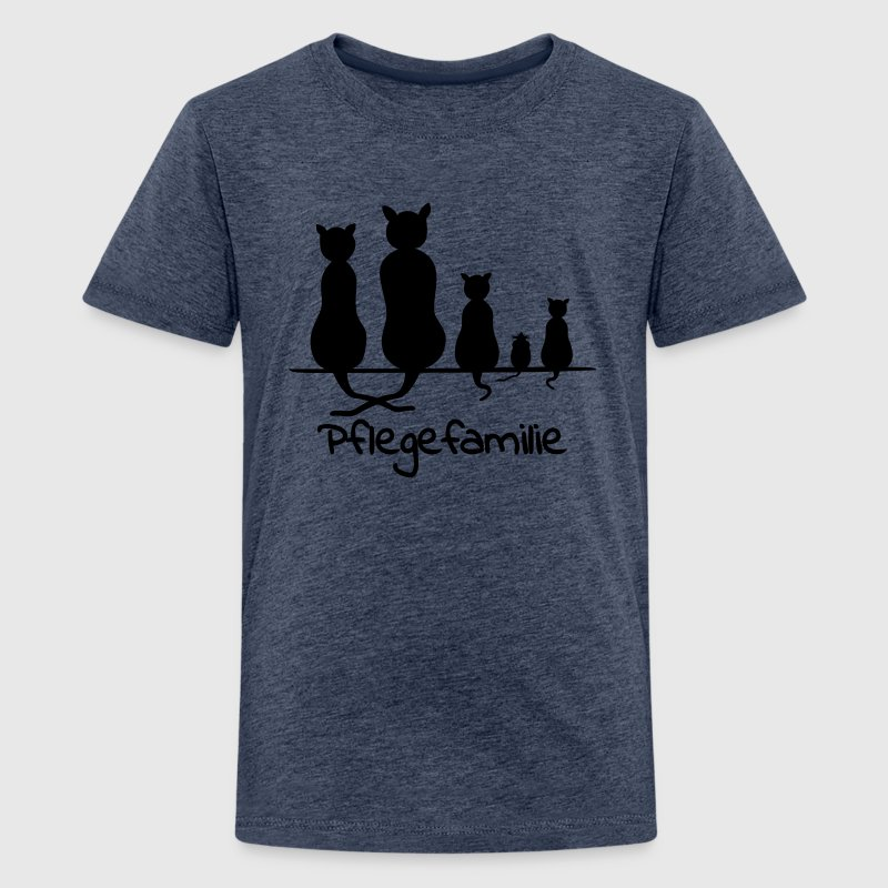 Pflegefamilie T-Shirts - Teenager Premium T-Shirt