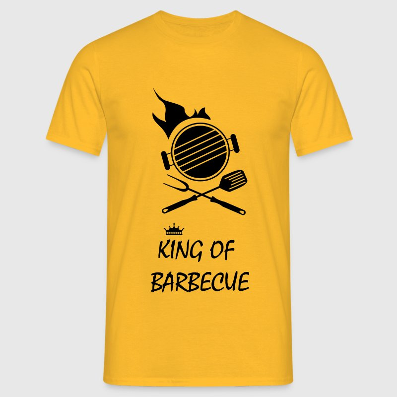 king of barbecue grillade Tee shirts - T-shirt Homme
