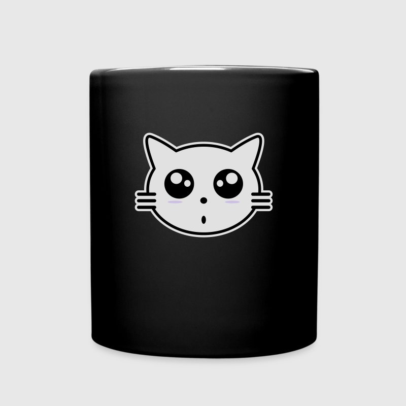 Manga Cat Mugs & Drinkware - Full Colour Mug