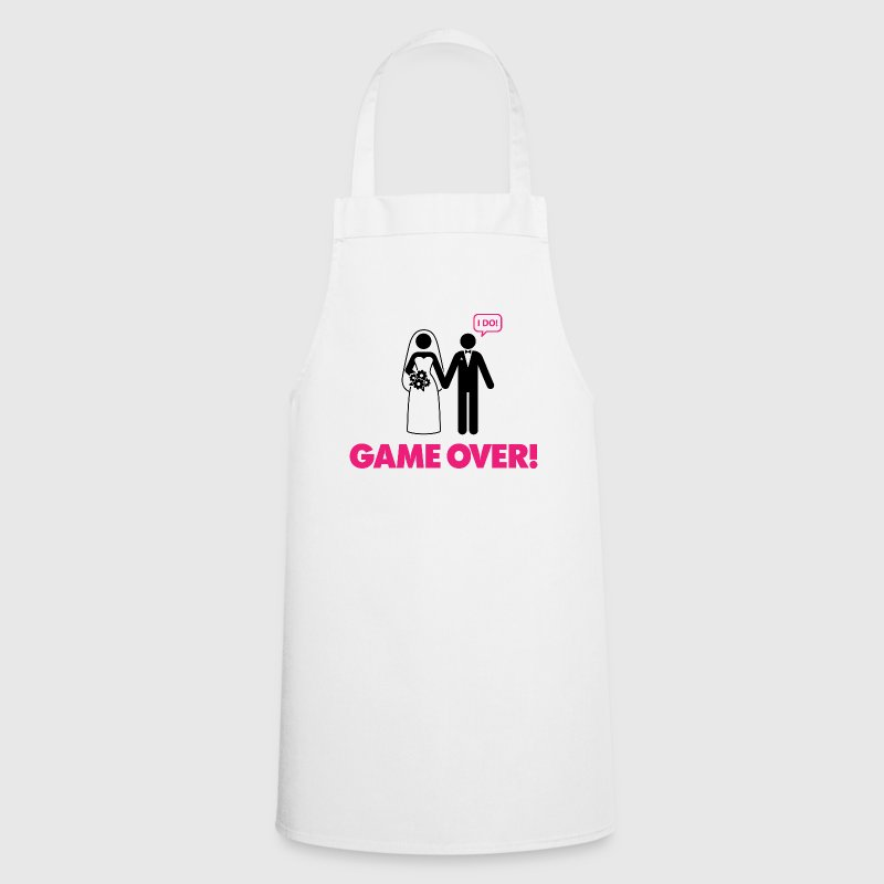 Game over. I am married.  Aprons - Cooking Apron