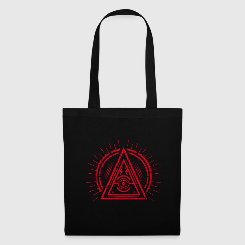 Illuminati - All Seeing Eye - Satan / Black Symbol Bolsas y mochilas - Bolsa de tela