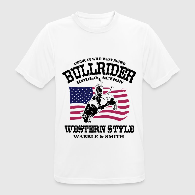Western Rodeo - Bullrider Tee shirts - T-shirt respirant Homme