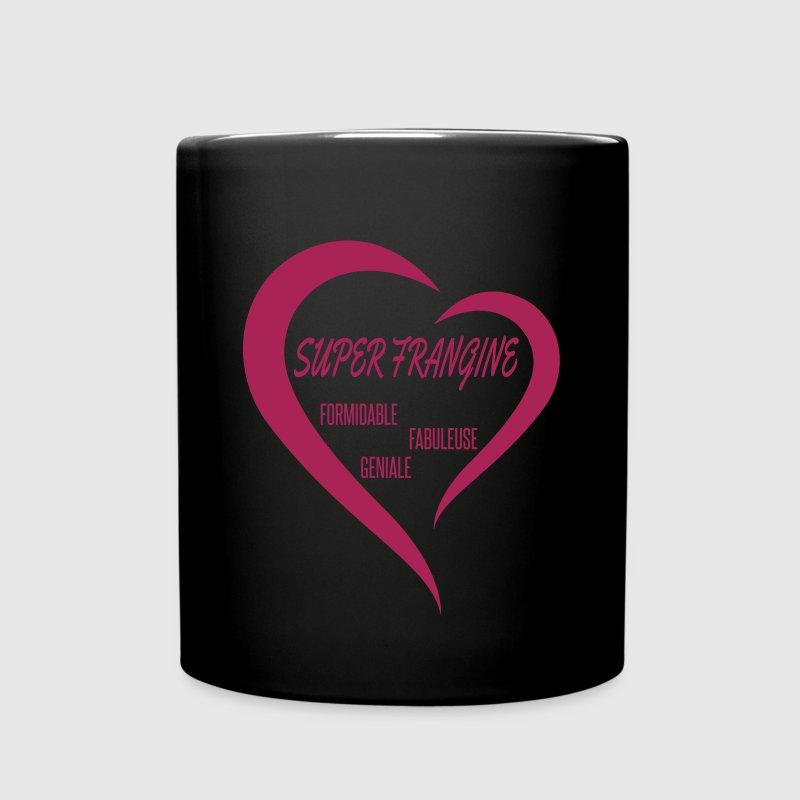 Tasse super frangine soeur une couleur spreadshirt - Code promo private sport shop frais de port ...
