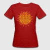 FLOWER OF LIFE, SPIRITUAL SYMBOL, SACRED GEOMETRY  - Women's Organic T-shirt