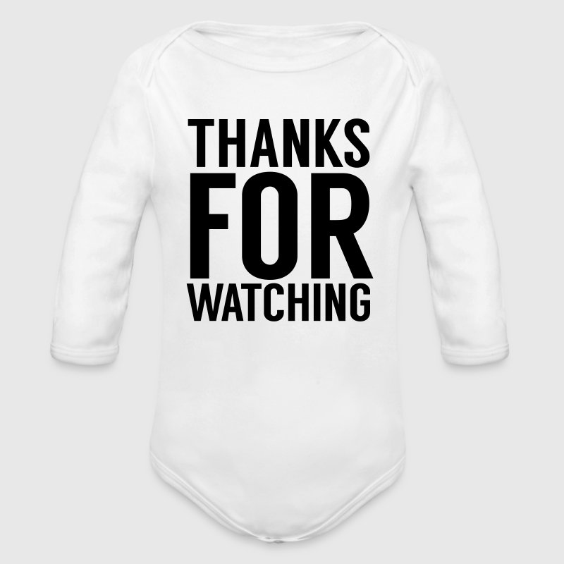 Thanks for watching Baby Bodysuits - Longsleeve Baby Bodysuit