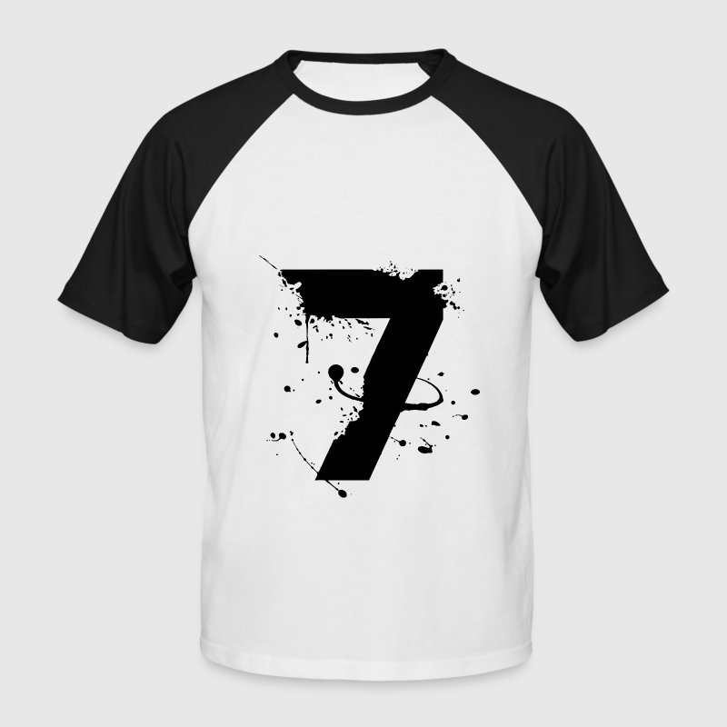 numéro 7 T-Shirts - Men's Baseball T-Shirt