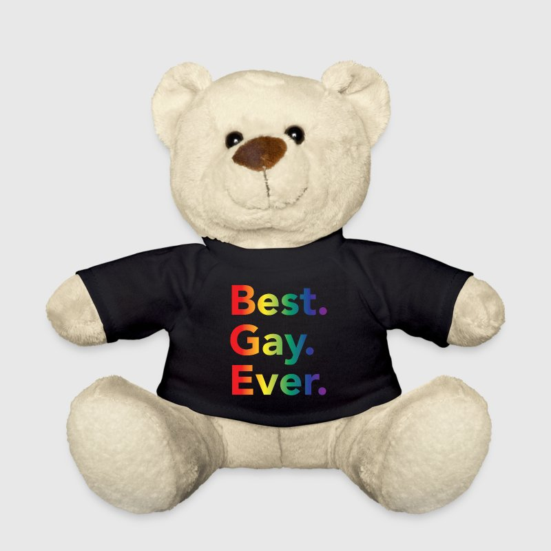 Best Gay Ever LGBT Rainbow Flag Teddy Bear Toys - Teddy Bear