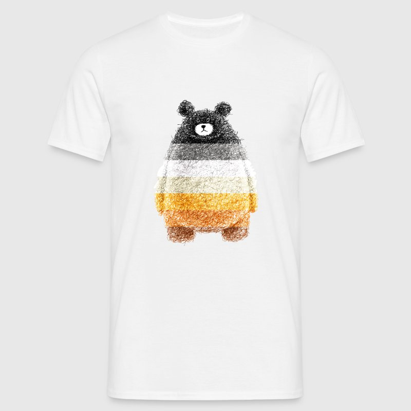 super cute bear - T-shirt Homme