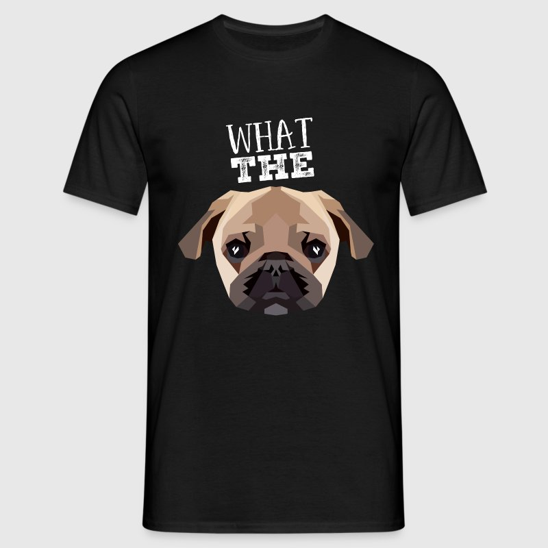 What The Pug T-shirts - Herre-T-shirt
