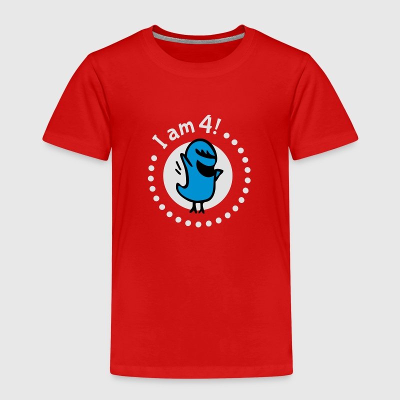 I am four - birthday Shirts - Kids' Premium T-Shirt