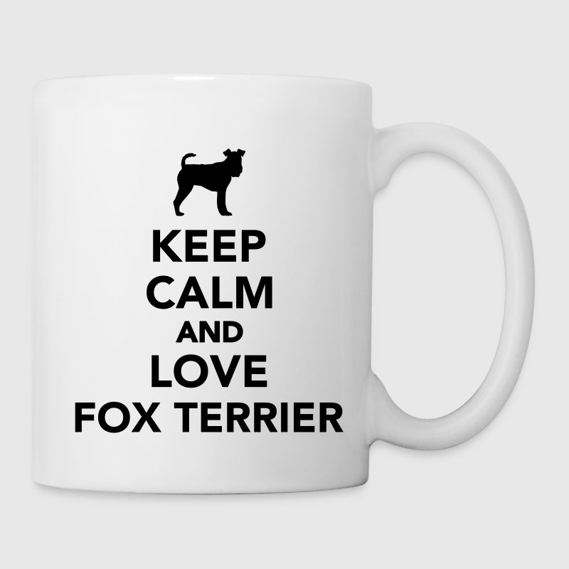 Keep calm and love Fox Terrier Tassen & Zubehör - Tasse