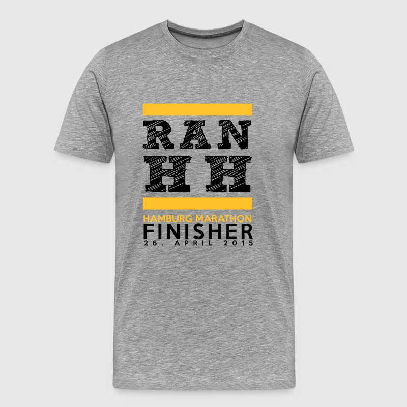 Hamburg Marathon Finisher Shirt - Men's Premium T-Shirt