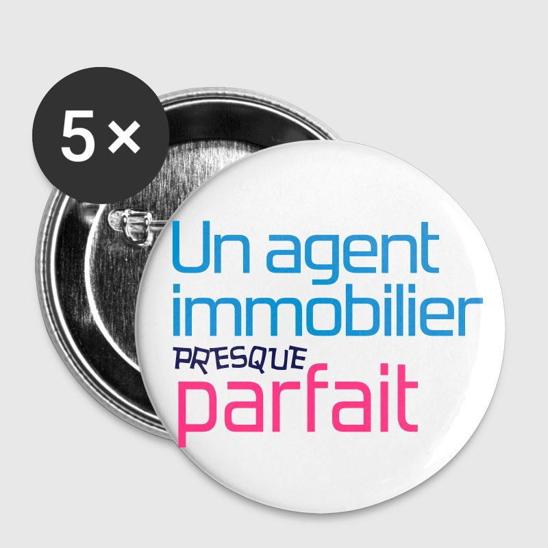 Agent Immobilier / Appartement / Maison / Immeuble Badges - Badge moyen 32 mm