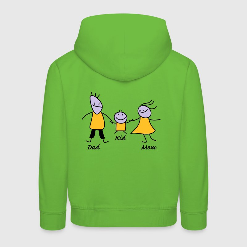 happy family Sweats - Pull à capuche Premium Enfant