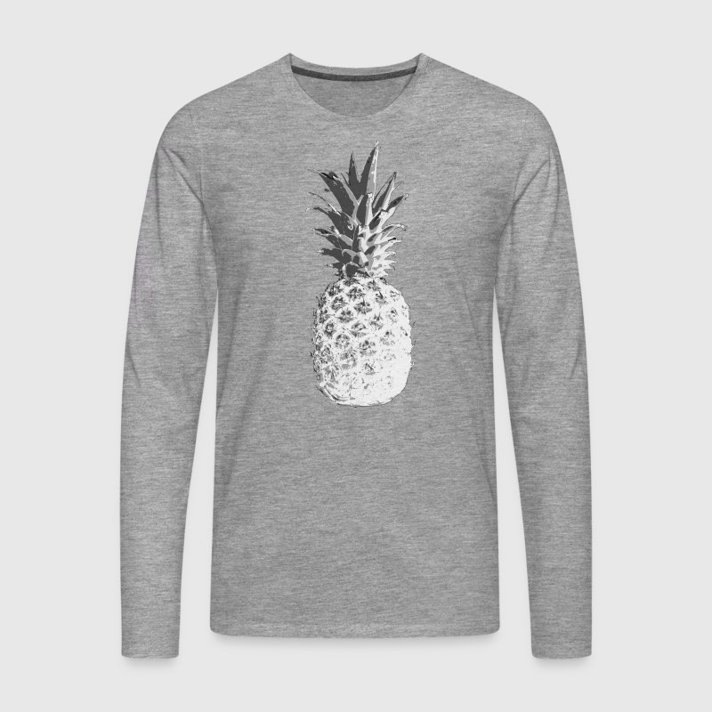 pineapple Long sleeve shirts - Men's Premium Longsleeve Shirt