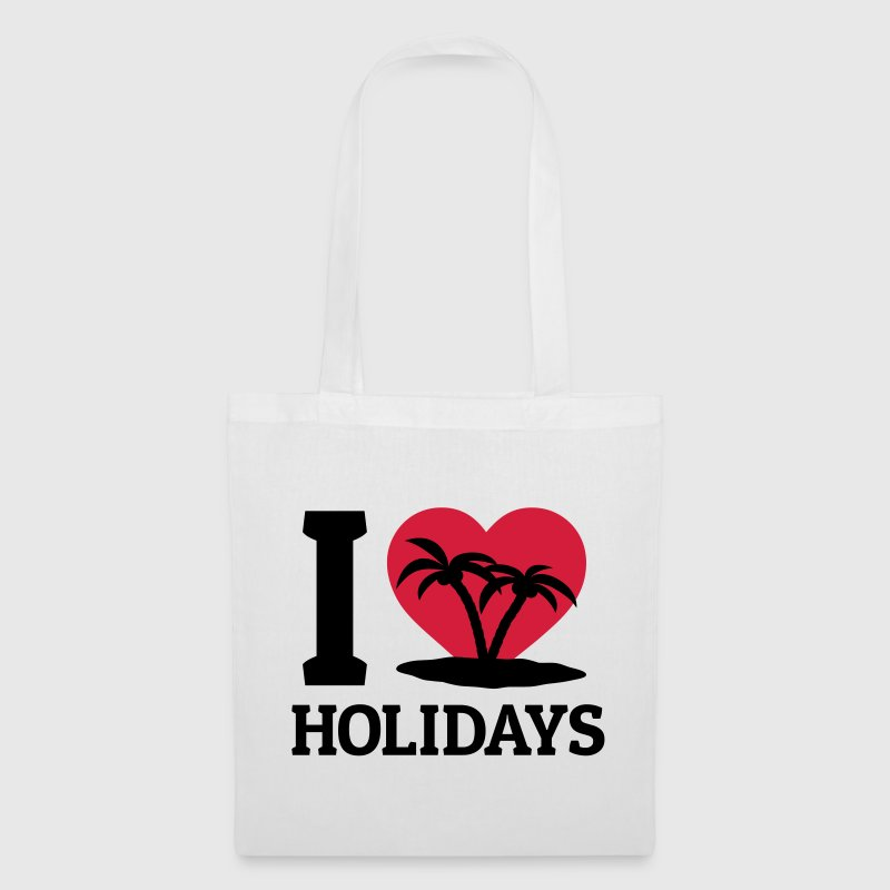 I love Holidays Bags & Backpacks - Tote Bag