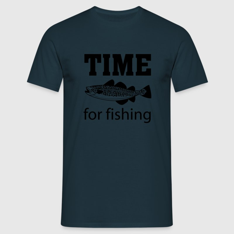 Time for fishing Caps & Hats - Men's T-Shirt