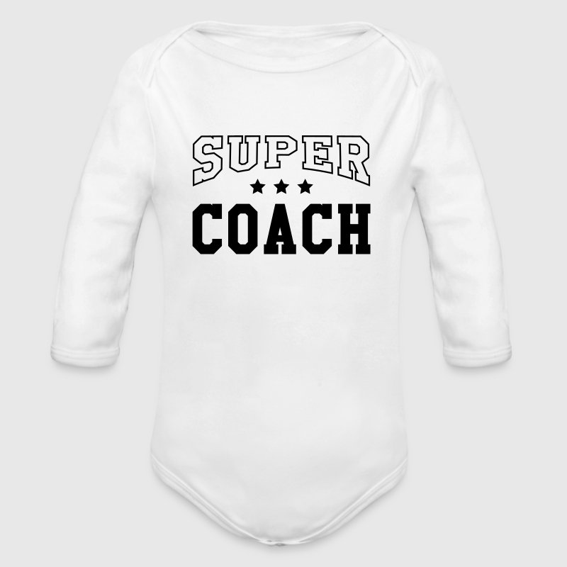 Coach / Coaching / Sport / Training / Trainer Baby Bodysuits - Longsleeve Baby Bodysuit