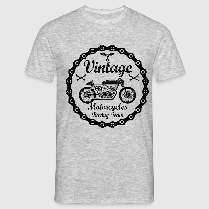 vintage motorcycles 04 Tee shirts - T-shirt Homme