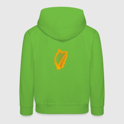 Ireland irish harp T-Shirts - Kinder Premium Hoodie