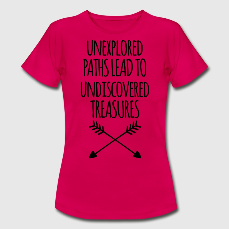 Unexplored Paths T-Shirts - Women's T-Shirt